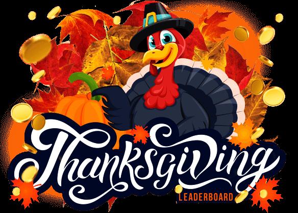 $50,000 Thanksgiving Leaderboard