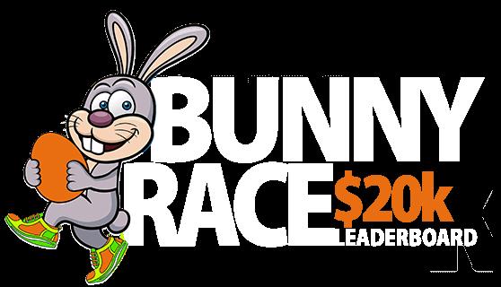$20,000 Bunny Race Leaderboard