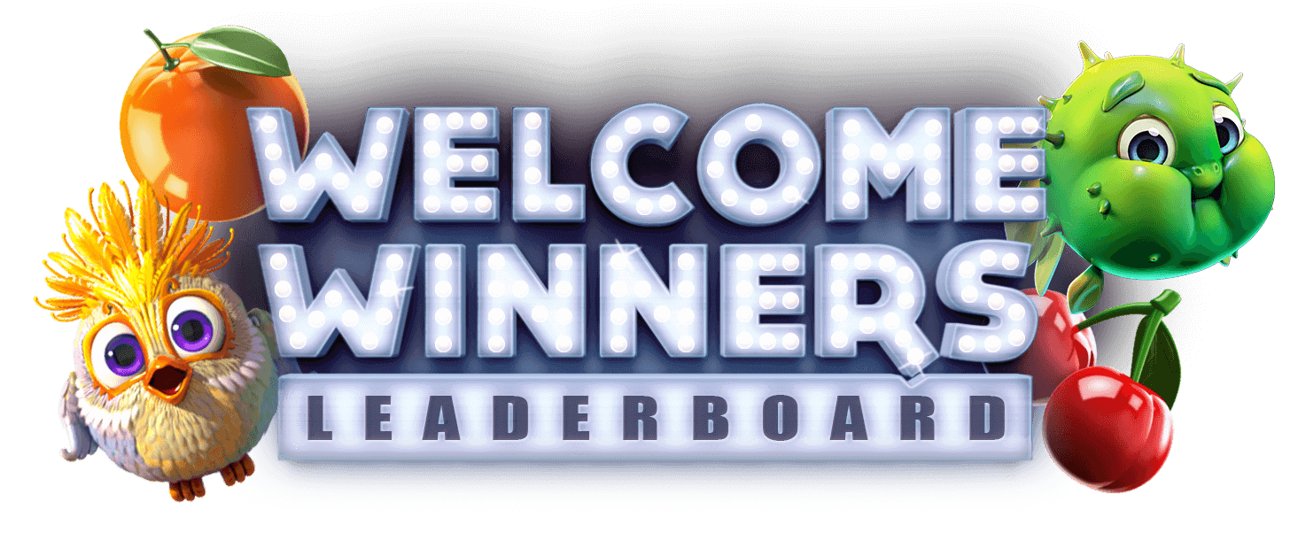 $2,500 Welcome Leaderboard